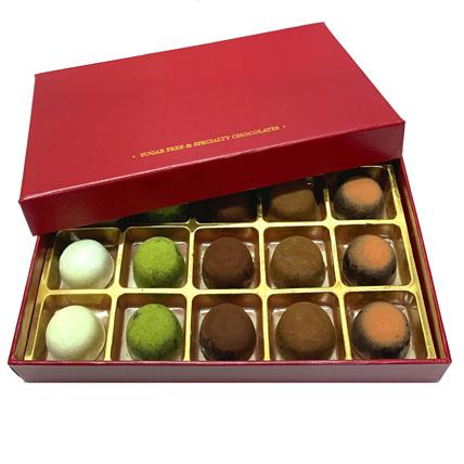 No Sugar Chocolate Truffle Box- 15 Pcs: Chocolates