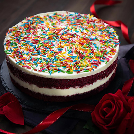 Cocoa Red Velvet Cheesecake: Cakes