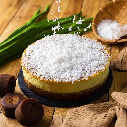Pandan Gula Melaka Cheesecake: Cakes