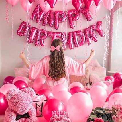 Princess Birthday Surprise: Balloon Decorations