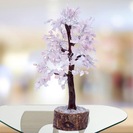 Rose Quartz Wish Tree: