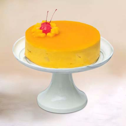 Tangy Mango Mousse Cake: Cake Delivery Singapore