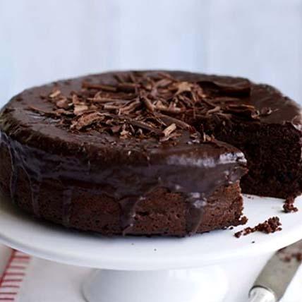 Vegan Triple Dark Chocolate Cake: Cakes