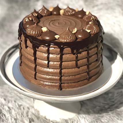 Decadent Nutella Cake: Gifts For Mom Dad