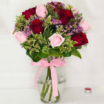 Make me a wish Bouquet: Pink Flower Bouquet