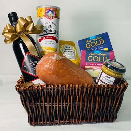 Rosemount Wine Gift Hamper: Chocolate Hampers