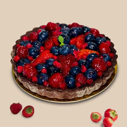 Berries Tart cake: Cakes