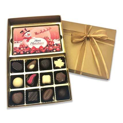 Designer Christmas Chocolate Box: Christmas Chocolates