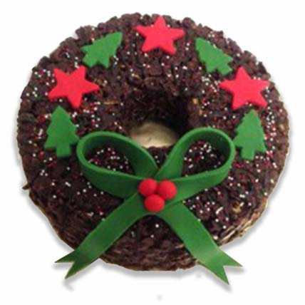 Edible Christmas Wreath: Xmas Wreath Singapore