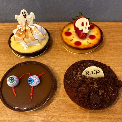 Halloween Character Tarts: Cup Cakes