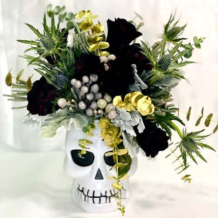 Halloween Rose Arrangement: Halloween Gifts
