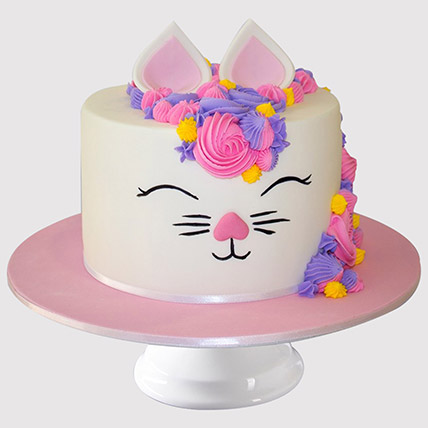 Adorable Bunny Cake: Cat Cakes