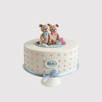 Adorable Teddy Cake: Designer Cakes