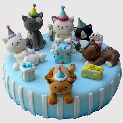 Animal Party Cake: Designer Cakes