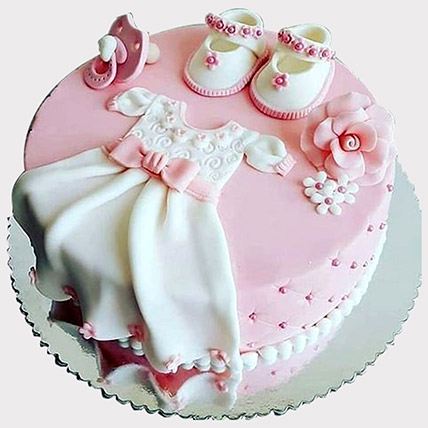 Baby Shower Fondant Cake: Baby Shower Gifts