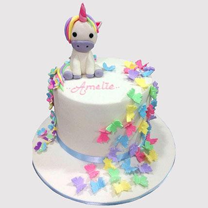 Baby Unicorn Cake: