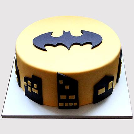 Batman Logo Cake: Batman Cakes
