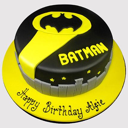 Batman Themed Cake: