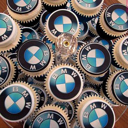 BMW Themed Cupcakes: Car Theme Cakes