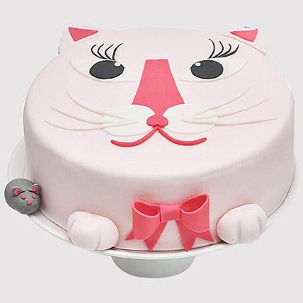Cat and Mice Designer Cake: Cat Cakes