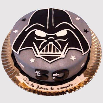 Darth Vader Special Fondant Cake: Star Wars Cakes