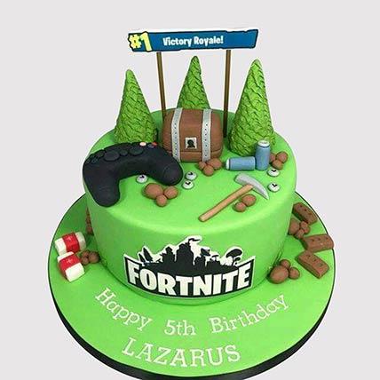 Fortnite Victory Royale Cake: