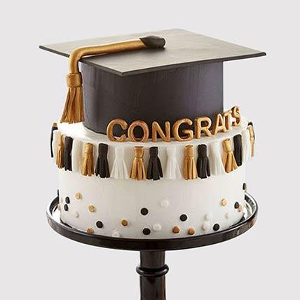 Graduation Hat Grand Cake: