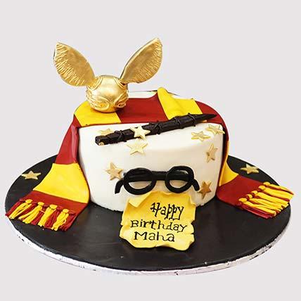 Gryffindor Quidditch Team Cake: