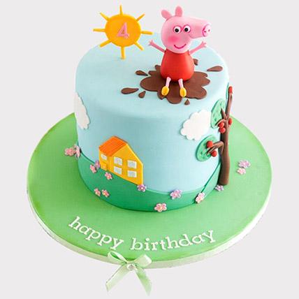 Happy Peppa Pig Cake: Peppa Pig Cakes