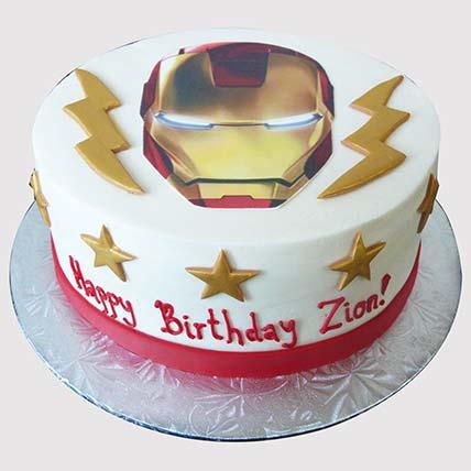 Iron Man Avengers Cake: