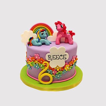 Little Pony Magic Land Cake: Little Pony Cakes