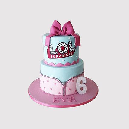 LOL Surprise 2 Tier Cake:
