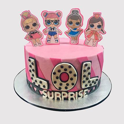 Lol Surprise Themed Fondant Cake: Lol Cakes