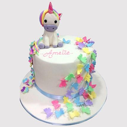 My Little Pony Unicorn Cake: