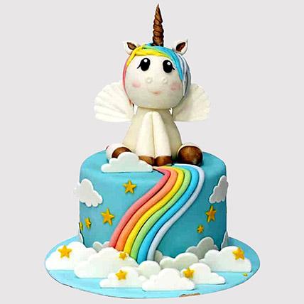 Mystic Unicorn Cake:
