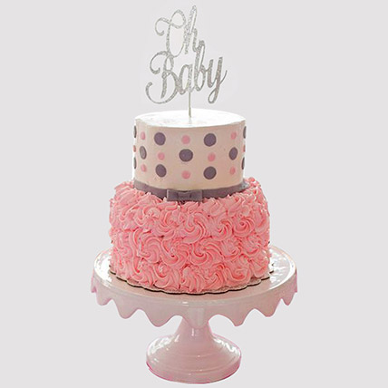 Oh Baby Fondant Cake: Baby Shower Gift Ideas