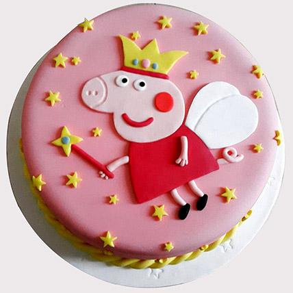 Peppa Pig Baby Shower Cake: