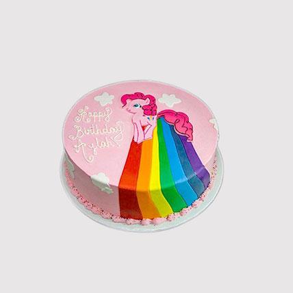 Pinkie Pie Rainbow Power Cake: Rainbow Cakes