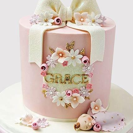 Pretty Bow Cake: Fortnite Cakes Oline