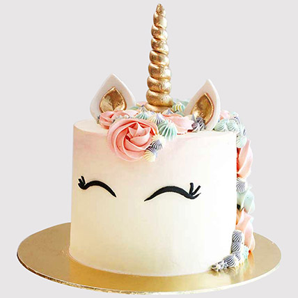 Pretty Unicorn Themed Cake: Unicorn Cakes Singapore
