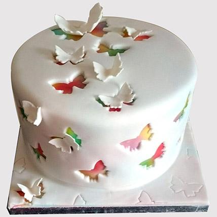 Rainbow Butterfly Cake: Rainbow Cakes Singapore