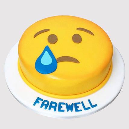 Sad Smiley Cake: Farewell Cakes