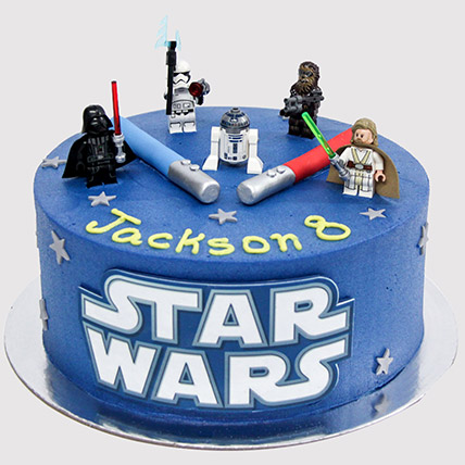 Star Wars Characters Cake: Star Wars Cakes