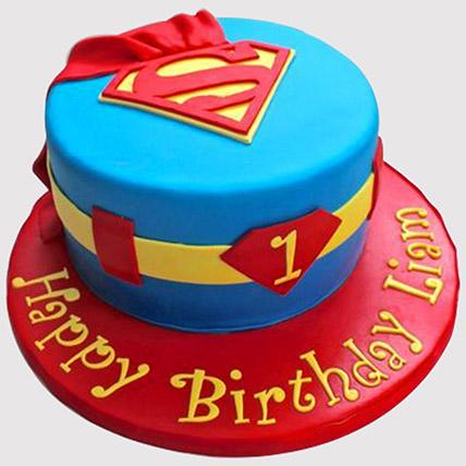 Superman Cake: Superman Cakes