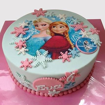The Disney Frozen Cake: Barbie Doll Cake
