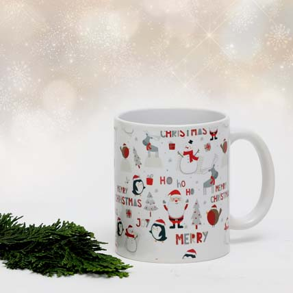 Ho Ho Ho Merry Christmas Mug: Christmas Mugs