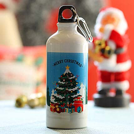 Merry Xmas Greetings Bottle: XMas Personalised Gifts Singapore