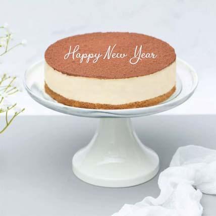 Happy New Year Irresistible Tiramisu Cake: New Year Cakes