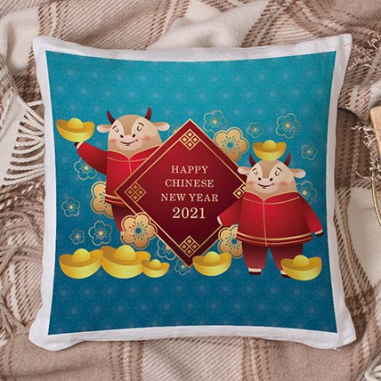2021 Year of The Ox Cushion: Chinese New Year Gifts