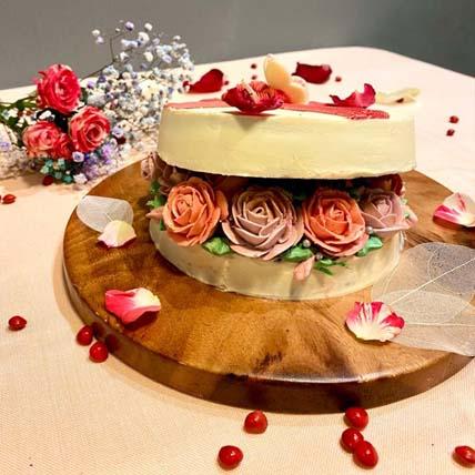 Lovely Rose Box Cake: Chinese New Year Cake